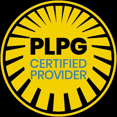 PLPG Certified Provider